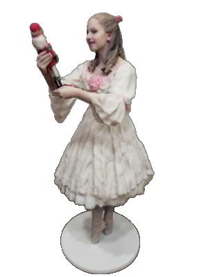 Nutcracker costume figurine