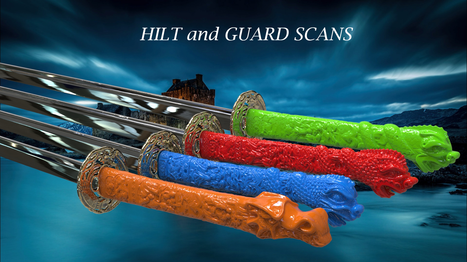 Sword hilts & guards